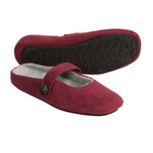 Woolrich Ambridge Slippers - Microsuede (For Women) in Ruby - Closeouts