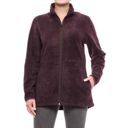 Woolrich Andes Fleece Jacket (For Women) in Burgundy - Closeouts