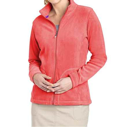 Woolrich Andes Fleece Jacket (For Women) in Hot Guava - Closeouts