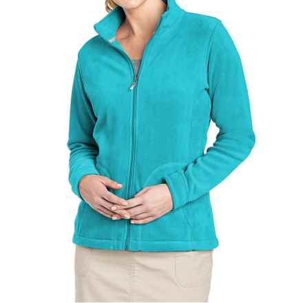 Woolrich Andes Fleece Jacket (For Women) in Peacock Blue - Closeouts