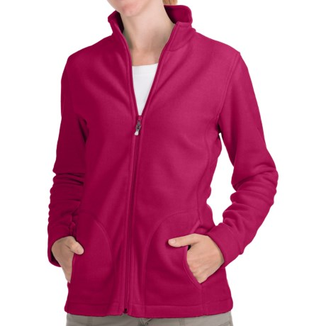 Woolrich Andes Fleece Jacket (For Women) in Razzleberry