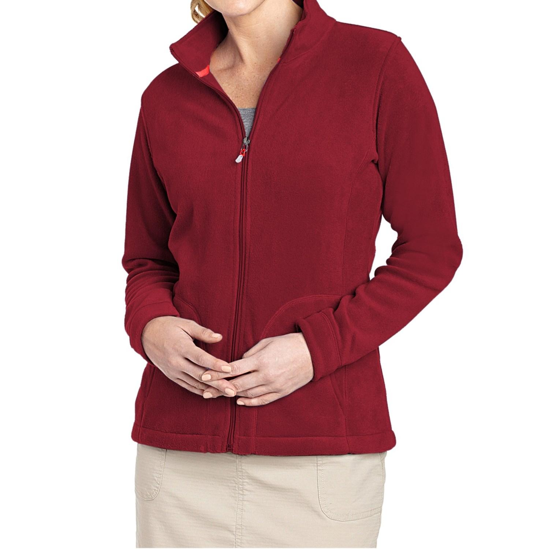 Woolrich Women's Printed Andes Fleece Jacket