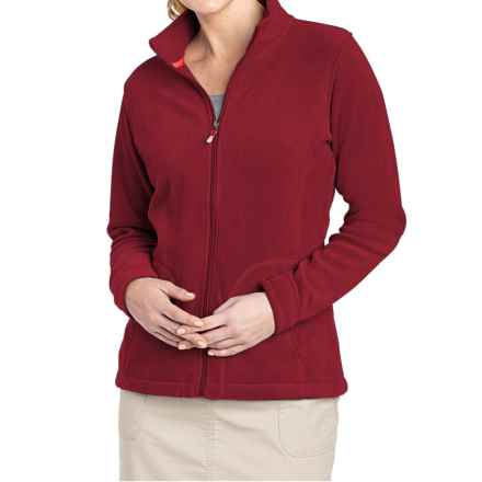 Woolrich Andes Fleece Jacket (For Women) in Scarlet - Closeouts