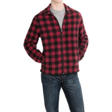 Woolrich Andes Fleece Plaid Jacket (For Men) in Buffalo Red/Black - Closeouts