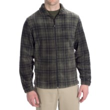 Woolrich Andes Fleece Plaid Jacket (For Men) in Onyx Heather - Closeouts
