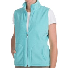 Woolrich Andes Fleece Vest (For Women) in Aqua - Closeouts
