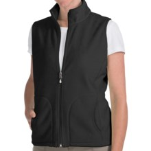 Woolrich Andes Fleece Vest (For Women) in Blk Back - Closeouts
