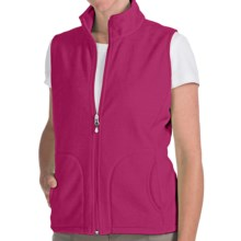 Woolrich Andes Fleece Vest (For Women) in Rzb Razzleberry - Closeouts