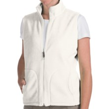 Woolrich Andes Fleece Vest (For Women) in Winter White - Closeouts