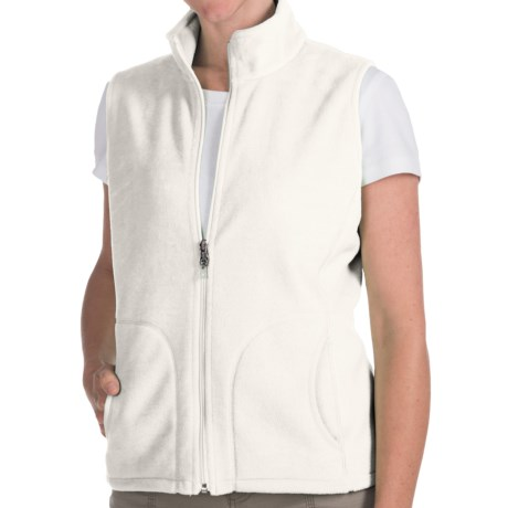 Woolrich Andes Fleece Vest (For Women) in Winter White