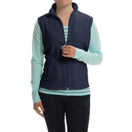 Woolrich Andes Fleece Vest - Full Zip (For Women) in Deep Indigo - Closeouts