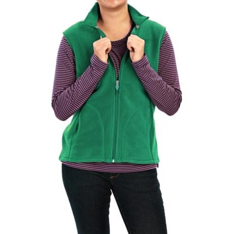 Woolrich Andes Fleece Vest - Full Zip (For Women)