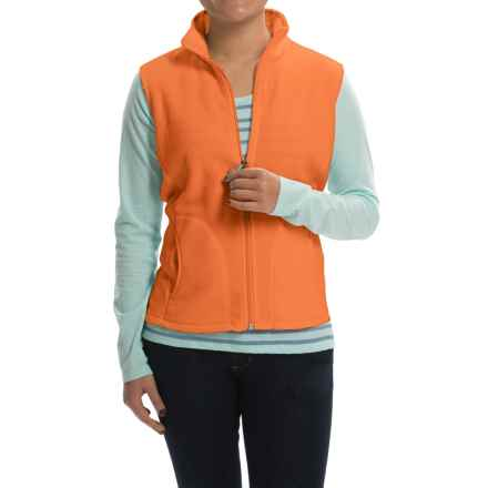 Woolrich Andes Fleece Vest - Full Zip (For Women) in Valencia - Closeouts