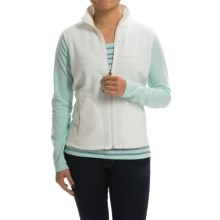 Woolrich Andes Fleece Vest - Full Zip (For Women) in Winter White - Closeouts