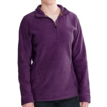 Woolrich Andes Fleece Zip Pullover (For Women) in Egp Eggplant - Closeouts