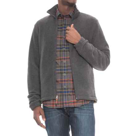 Woolrich Andes II Fleece Jacket (For Men) in Charcoal Heather - Closeouts