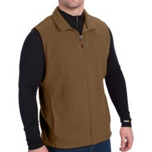 Woolrich Andes II Fleece Vest (For Men) in Wood - Closeouts