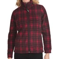 Woolrich Andes Plaid Fleece Jacket - UPF 40+ (For Women) in Atlantic Hunt