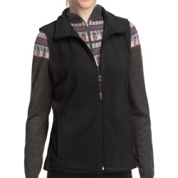 Woolrich Andes Vest - Anti-Pill Fleece, UPF 40+ (For Women) in Winter White