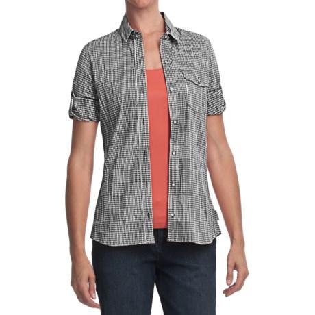 Woolrich Annalie Shirt - 3/4 Sleeve (For Women) in Black