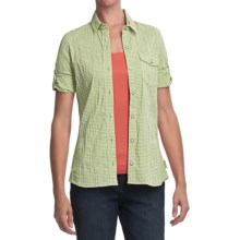 Woolrich Annalie Shirt - 3/4 Sleeve (For Women) in Light Sprout - Closeouts
