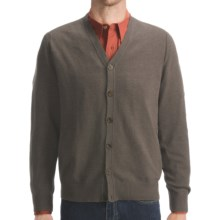 Woolrich Atlas Cardigan Sweater (For Men) in Dark Shale Heather - Closeouts