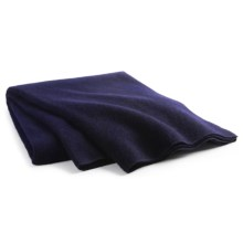 Woolrich Atlas Twin Blanket - Wool Blend, Twin in Navy - Closeouts