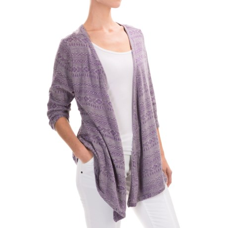 Woolrich Audrey Peak Cardigan Sweater 3/4 Sleeve (For Women)