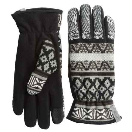Woolrich Avalanche Gloves - Touchscreen Compatible, Fleece Lined (For Women) in Heddle Multi - Closeouts