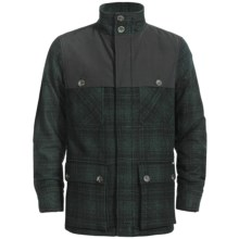 Woolrich Avalanche Jacket - Wool, Insulated (For Men) in Dark Hunt Loden Plaid - Closeouts