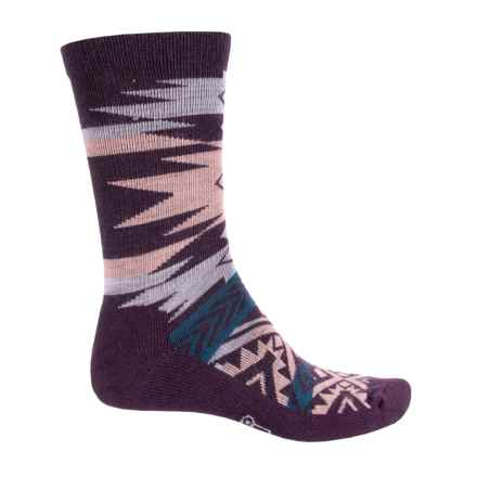 Woolrich Avalanche Socks - Merino Wool, Crew (For Men and Women) in Plumeria - Closeouts