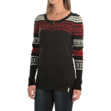 Woolrich Avalanche Sweater III (For Women) in Black - Closeouts