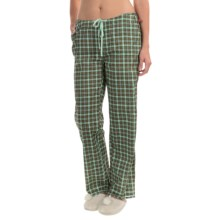 Woolrich Awaken Pants (For Women) in Fresh Mint Plaid - Closeouts