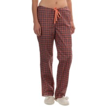 Woolrich Awaken Pants (For Women) in Guava Plaid - Closeouts