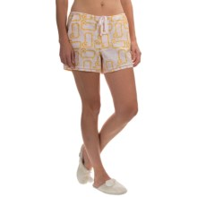 Woolrich Awaken Shorts (For Women) in Petal Sheep - Closeouts