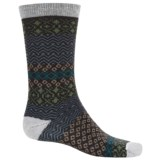 Woolrich Aztec Socks - Merino Wool, Crew (For Women)