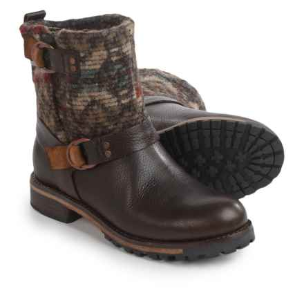 Woolrich Baltimore Boots (For Women) in Java/Wool Blanket - Closeouts
