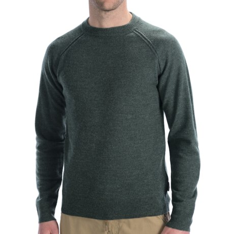 Woolrich Barnstormer Sweater - Merino Wool (For Men) in Everglade Heather