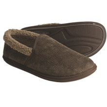 Woolrich Basin Corduroy Slippers (For Men) in Light Sage - Closeouts