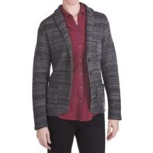 Woolrich Basswood Blazer - Boiled Lambswool (For Women) in Cch Charcoal Heather - Closeouts