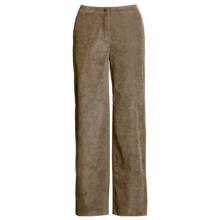 Woolrich Bay Falls Pants - Stretch Chenille Corduroy (For Women) in Dark Khaki - Closeouts