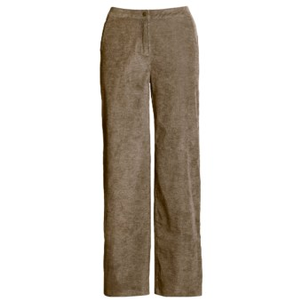 Woolrich Bay Falls Pants - Stretch Chenille Corduroy (For Women) in Dark Khaki