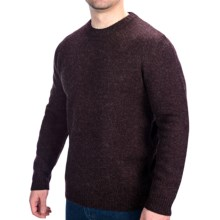 Woolrich Beacon Crew Sweater - Shetland Wool (For Men) in Dark Mulberry - Closeouts