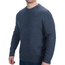 Woolrich Beacon Crew Sweater - Shetland Wool (For Men) in Deep Indigo - Closeouts