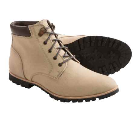Woolrich Beebe Washed Duck Canvas Boots (For Women) in Natural Canvas - Closeouts