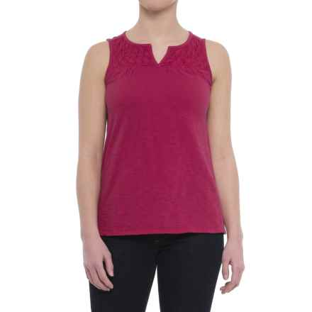 Woolrich Bell Canyon Eco Rich Tank Top - Organic Cotton (For Women) in Dragon Fruit - Closeouts