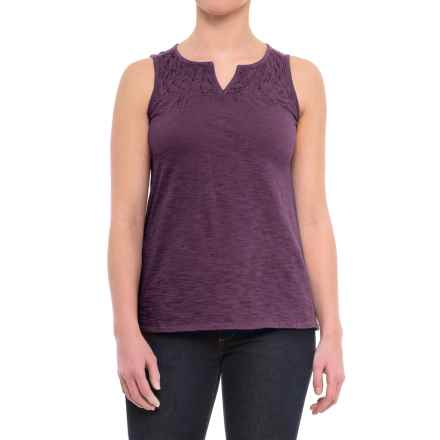 Woolrich Bell Canyon Eco Rich Tank Top - Organic Cotton (For Women) in Eggplant - Closeouts