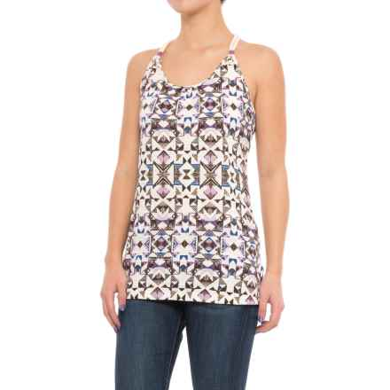 Woolrich Bell Canyon Printed Tank Top - Organic Cotton (For Women) in Hydrangea - Closeouts