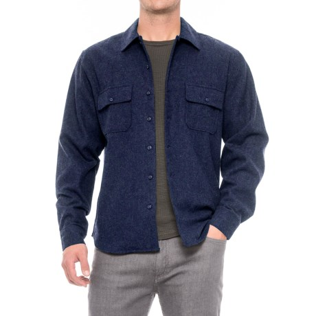 Woolrich Bering Plaid Wool Shirt - Long Sleeve (For Men)