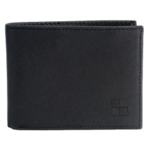 Woolrich Billfold Wallet - Tuscan Leather in Black - Closeouts